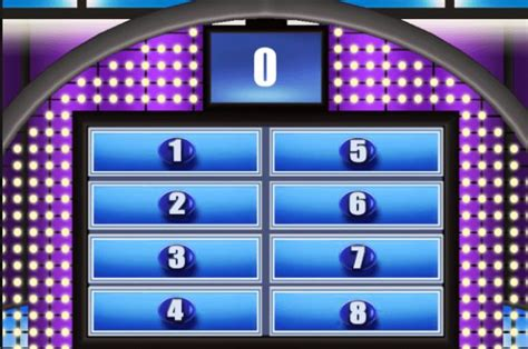 Family Feud Customizable Template by Family Feud Template Powerpoint Free