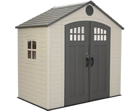 8x6 Storage Shed Plans by Lifetime 8x6 Storage Shed