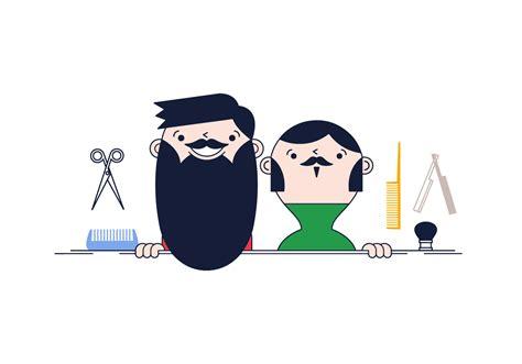 Free Beard Grooming Vector - Download Free Vector Art ...