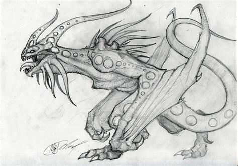 Amazing Drawings Of Dragons  Wwwpixsharkcom Images