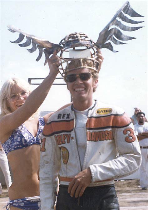 rex beauchamp  flat track hero motorsport retro
