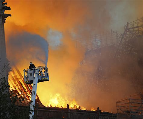 youtube   notre dame cathedral fire flagged