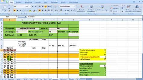 excel zeiterfassung wochentage bedingt formatieren