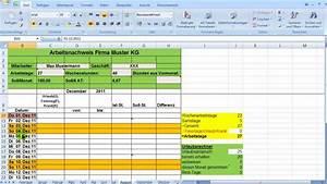 Excel Arbeitszeit Berechnen Formel : excel zeiterfassung wochentage bedingt formatieren youtube ~ Themetempest.com Abrechnung