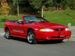 1994 FORD MUSTANG COBRA INDY PACE CAR CONVERTIBLE - 81772