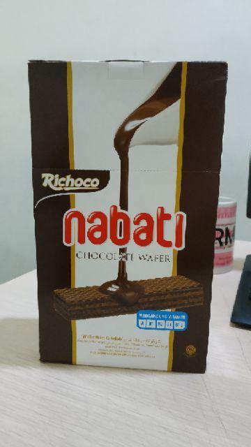 richeese nabati wafer keju richoco wafer coklat kemasan