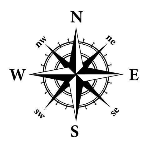 Compass Clip Steunk Compass Clipart Compass Clip To