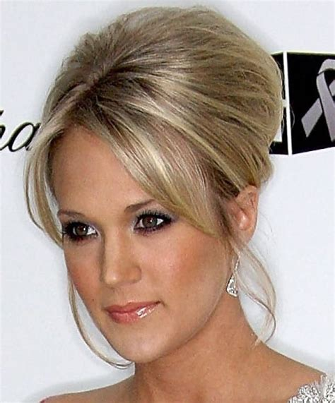 wedding hair home updo hairstyle carrie underwood beehive updo hairstyle mother