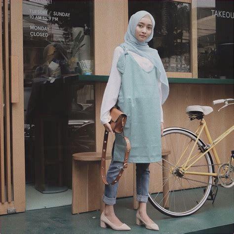 model celana jeans hijabers selebgram terngehits