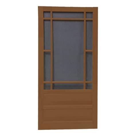 security screen doors security screen door wood