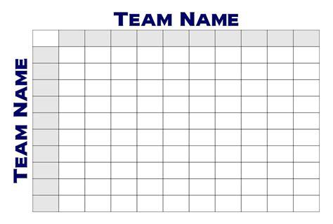 images  printable  square football pool grid