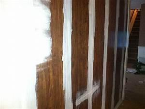 Faux Finish On Wood Paneling BEST HOUSE DESIGN : Whitewash