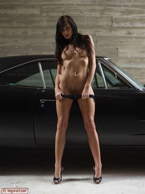 tereza in muscle car girl by hegre art 16 photos erotic beauties