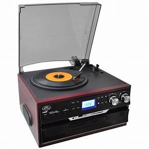 Radio Cd Kassette : pyle pttcds7u classic vintage turntable with ~ Jslefanu.com Haus und Dekorationen