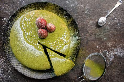 Matcha Green Tea Sponge Cake   Asian Inspirations