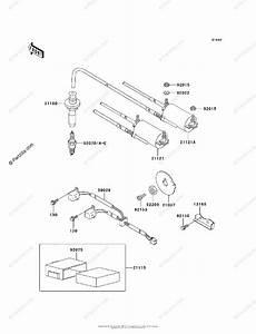 Kawasaki Motorcycle 2002 Oem Parts Diagram For Ignition