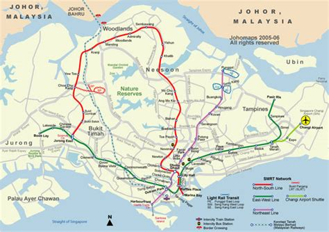 smrt maps  singapore singapore mrt map