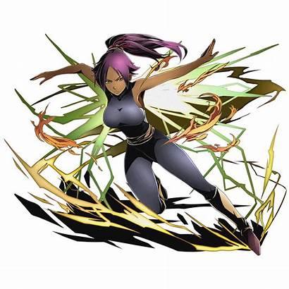 Bleach Divine Yoruichi Anime Gate Shihouin Fanart