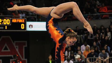 auburn gymnastics holds  air force