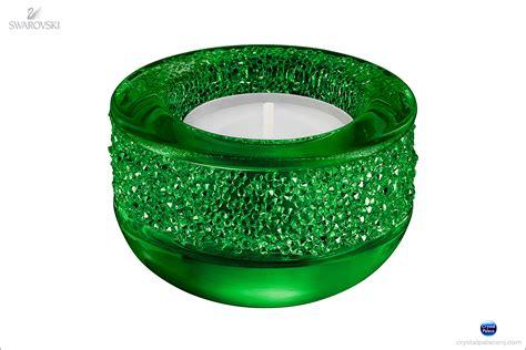 swarovski shimmer tea light swarovski shimmer tea light green
