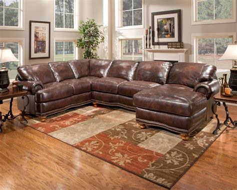 Upholstery Newport by Olympus A63 Right Chaise Sectional Sofa By Newport