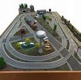 Custom Built O Scale Model Train Layout Model Railroad ...
