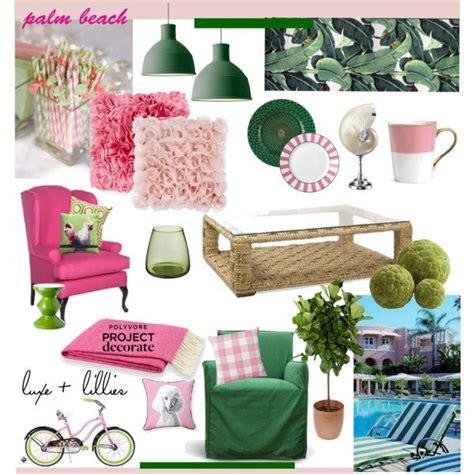 summer patio   polyvore home palm beach decor