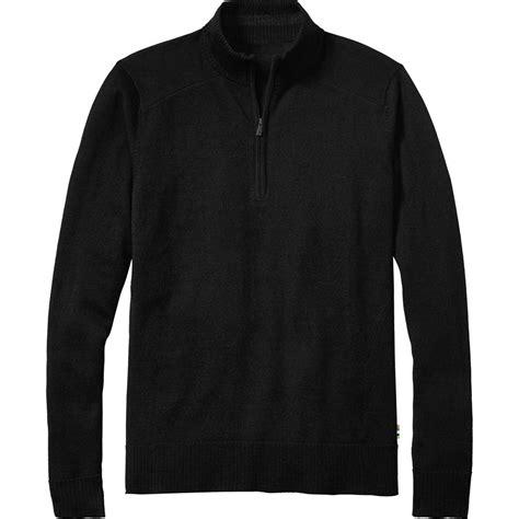 mens half zip sweater smartwool kiva ridge half zip sweater 39 s