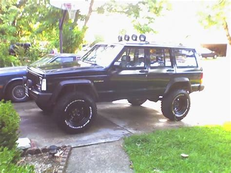 old white jeep cherokee black rims black jeep white out jeepforum com