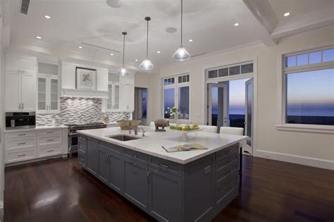 refacing kitchen cabinets ideas contemporary kitchen with breakfast bar pendant light in