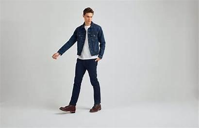Denim Jackets Jacket Should Suit Fitting Short