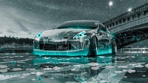 nissan  tuning crystal city ice snow car