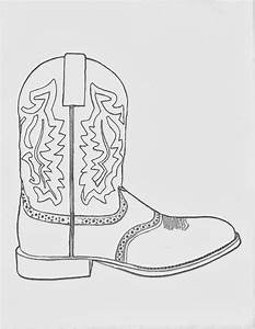 Cowboy Hat And Boots Coloring Page | www.imgkid.com - The ...