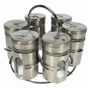 Support à épices : support rond 6 pots pices la cuisine porte epices pot epices cl29000024 ~ Teatrodelosmanantiales.com Idées de Décoration