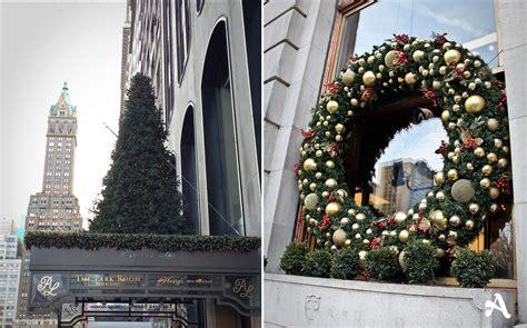 decoration de noel new york date