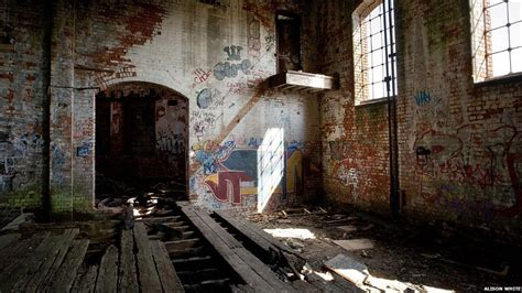 bbc news derbys abandoned buildings  photographic