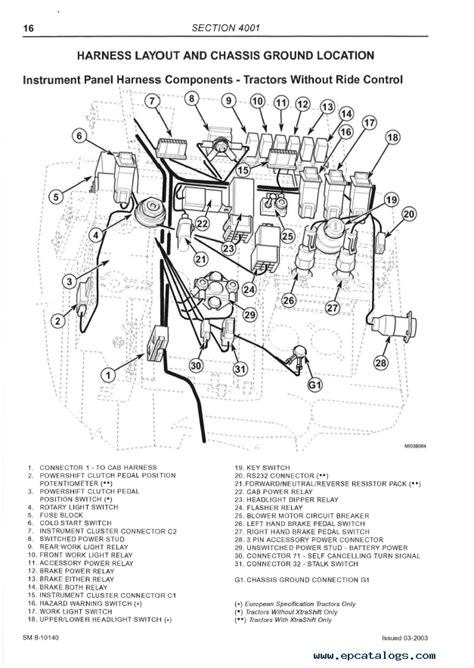 Mccormick Tractor Wiring Diagram by Mccormick Cx Series Sm 8 10602 Service Manual Pdf