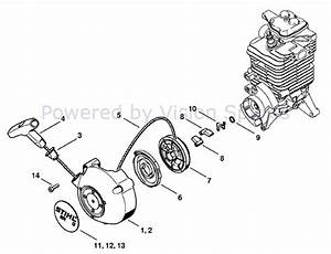 Wiring Diagram Source  Stihl Leaf Blower Parts Diagram