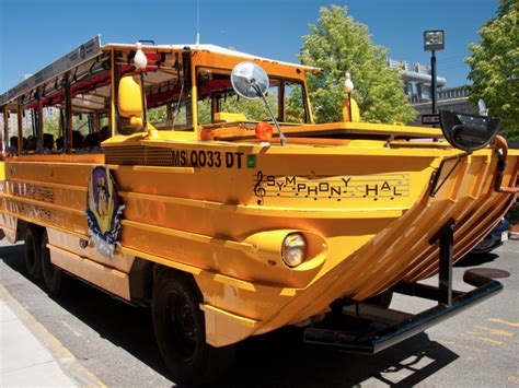 Duck Boat Kills Pedestrian by Pedestrian Injured After Being Hit By Duck Boat In Boston