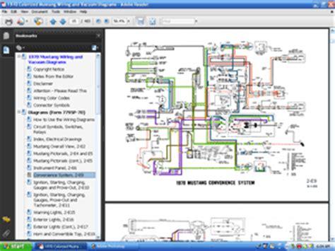 colorized wiring  vacuum diagrams cd