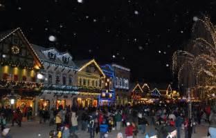 Leavenworth WA Christmas Lighting Festival