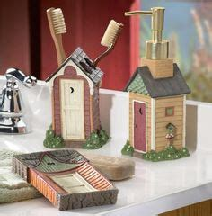 Outhouse Themed Bathroom Accessories by 1000 Images About My Outhouse Themed Bathroom On