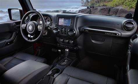 interior jeep wrangler car and driver
