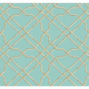 York Wallcoverings Tropics Bamboo Trellis Wallpaper