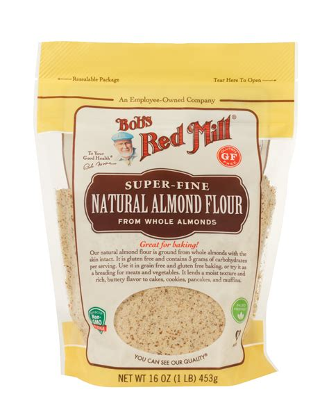 almond meal almond flour extra fine unblanched bob s red mill
