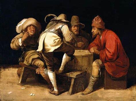 gambling  art paintings  dices card games