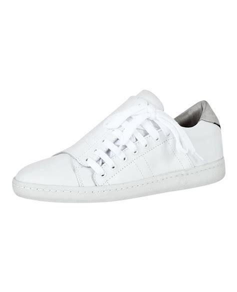 basket comptoir des cotonniers sneakers slash blanc baskets femme tennis comptoir
