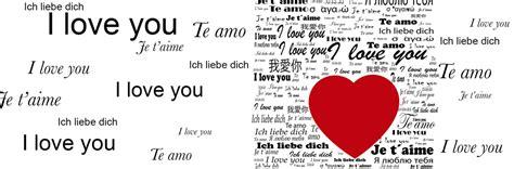 ich liebe dich  fast allen sprachen festtagsgedichte