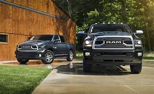 2018 Ram 1500 Limited Tungsten Edition And 2018 Ram 2500
