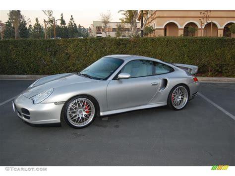 2001 Porsche 911 Turbo by 2001 Arctic Silver Metallic Porsche 911 Turbo Coupe Gt640
